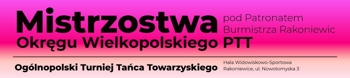 Mistrzostwa Okręgu Wielkopolskiego PTT 2021